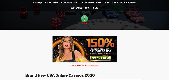 brand new online casinos usa.